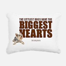 heartshirtpic Rectangular Canvas Pillow