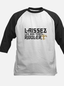 LAISSEZ LES BON TEMPS ROULER! Kids Baseball Jersey