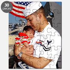 Navy Dad Puzzle