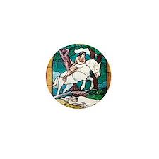Young King Arthur Mini Button
