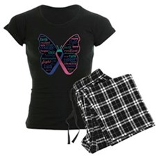 Butterfly Thyroid Cancer Pajamas
