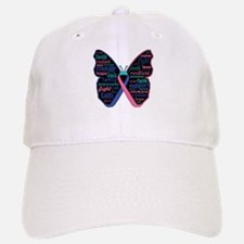 Butterfly Thyroid Cancer Baseball Baseball Cap