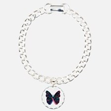 Butterfly Thyroid Cancer Bracelet