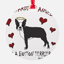 BostonTerrierBlk Ornament