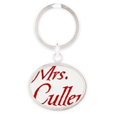 mrs-cullen8 Oval Keychain
