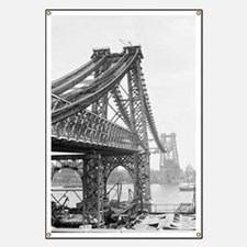 Williamsburg Bridge Construction Banner