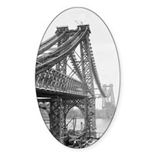 Williamsburg Bridge Construction Decal