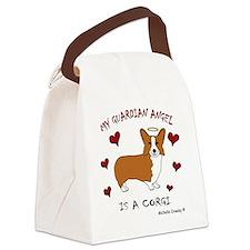 CorgiTan Canvas Lunch Bag