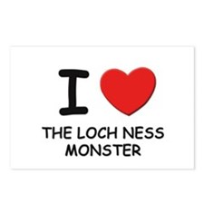 I love the loch ness monster Postcards (Package of