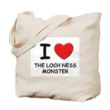 I love the loch ness monster Tote Bag