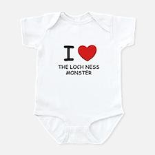 I love the loch ness monster Infant Bodysuit