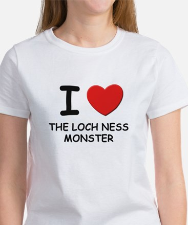 I love the loch ness monster Women's T-Shirt