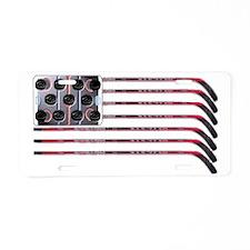 hockeytrans3 Aluminum License Plate