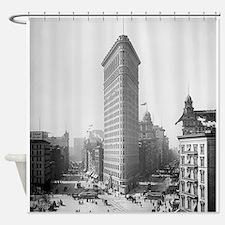 Flatiron Building Shower Curtain