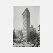 Flatiron Building Rectangle Magnet