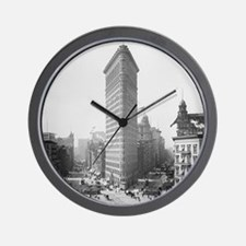 Flatiron Building Wall Clock