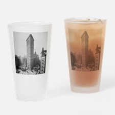 Flatiron Building Drinking Glass