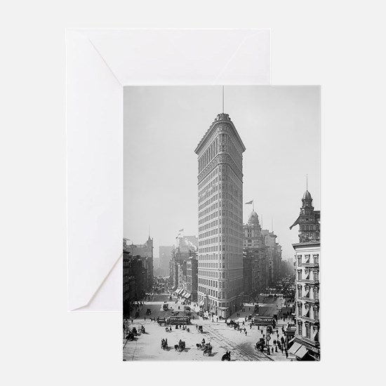 Flatiron Building Greeting Card