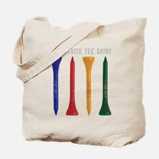 My Favorite tee Shirt Tote Bag