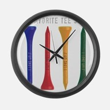My Favorite tee Shirt Large Wall Clock