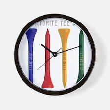My Favorite tee Shirt Wall Clock