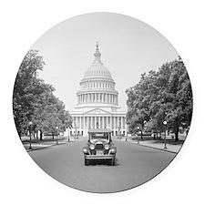 Paige Motorcar at US Capitol Round Car Magnet