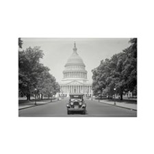 Paige Motorcar at US Capitol Rectangle Magnet