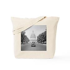 Paige Motorcar at US Capitol Tote Bag