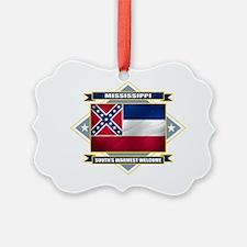Mississippi diamond Ornament