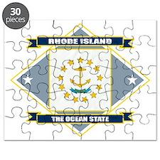 Rhode Island diamond Puzzle
