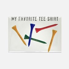 My Favorite Tee Shirt Rectangle Magnet
