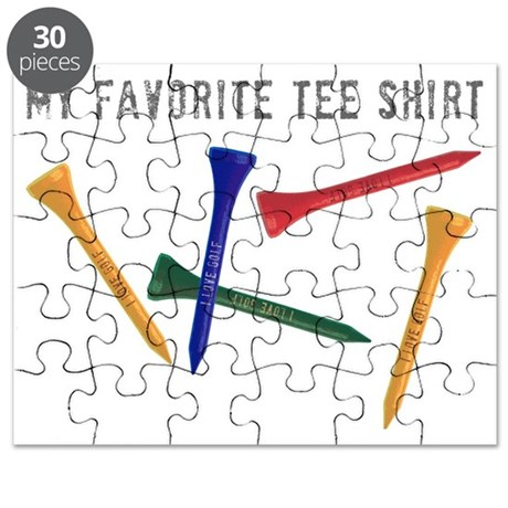 My Favorite Tee Shirt Puzzle by Admin_CP22295587