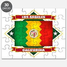 Los Angeles diamond Puzzle