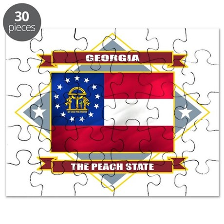 Georgia diamond Puzzle