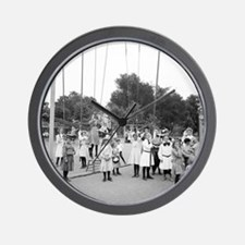 Girls Playground Wall Clock