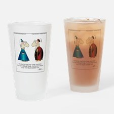 BUBBLE TEA by April McCallum Drinking Glass