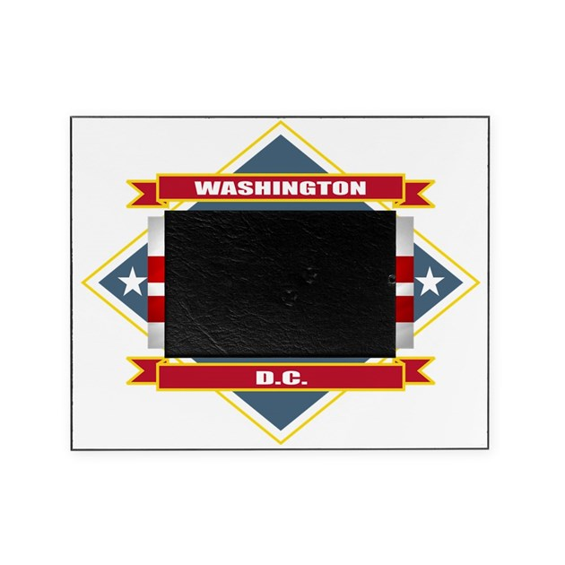 Washington DC diamond Picture Frame by Admin_CP10516147