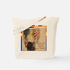 AZ_JB_Flag_Secure_Border_Mousemat Tote Bag