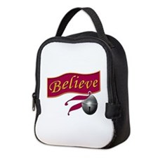 Believe Bell Neoprene Lunch Bag