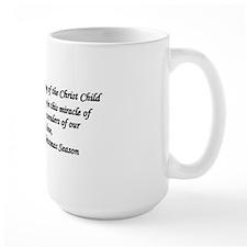 O Come Emmanuel text001 Mug