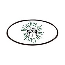 Witches in Circles Patches
