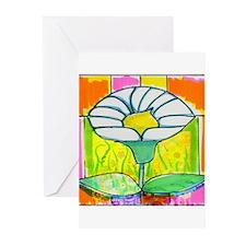 Mo Fleurs Greeting Cards (Pk of 10)