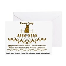 spay-ladder2 Greeting Card