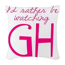 GH Woven Throw Pillow