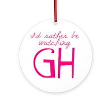 GH Round Ornament