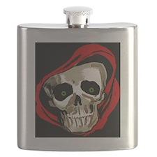 Skull Skeleton Face Flask
