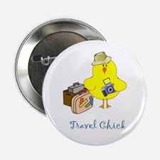 Travel Chicks Button