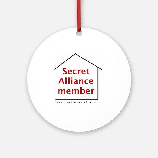 Secret Alliance Round Ornament