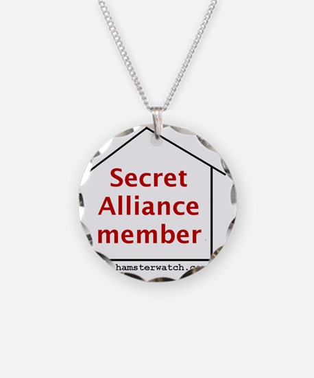Secret Alliance Necklace Circle Charm