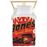Hot rod Luxe Twin Duvet Cover